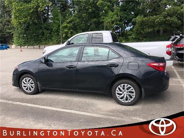 2019 Toyota Corolla LE (Stk: U10791) in Burlington - Image 1 of 5