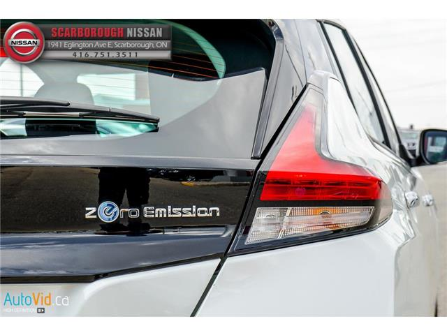 2018 Nissan LEAF  (Stk: P7697) in Scarborough - Image 11 of 30