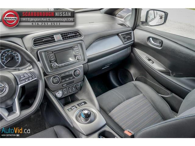2018 Nissan LEAF  (Stk: P7697) in Scarborough - Image 19 of 30