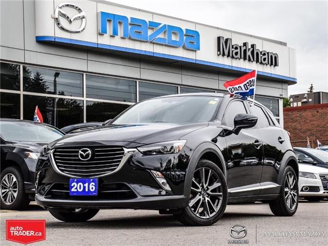 2016 Mazda CX-3 GT (Stk: P1906) in Markham - Image 1 of 29