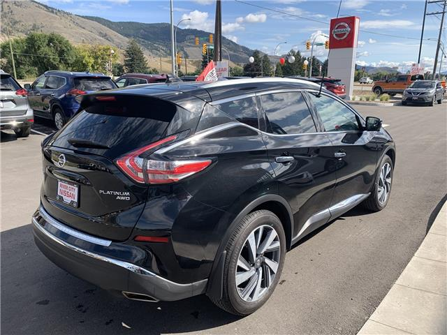 2018 Nissan Murano Platinum (Stk: T19303A) in Kamloops - Image 6 of 28