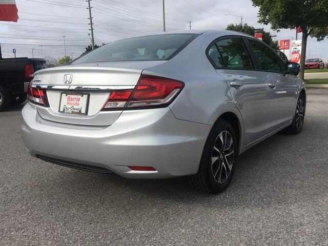 2015 Honda Civic EX (Stk: U15748) in Barrie - Image 8 of 23