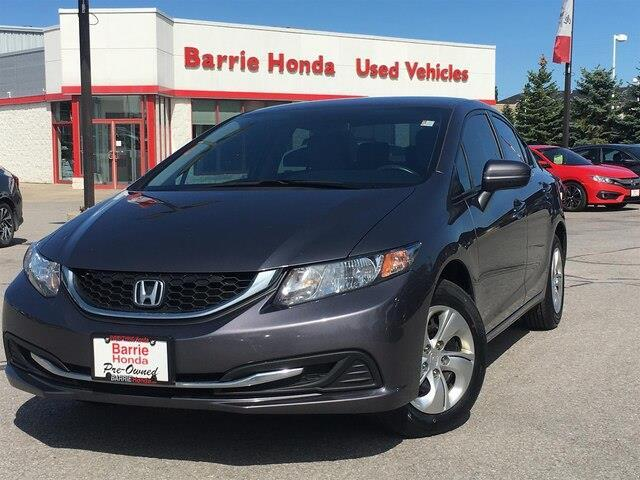 2015 Honda Civic LX (Stk: U15550) in Barrie - Image 1 of 23