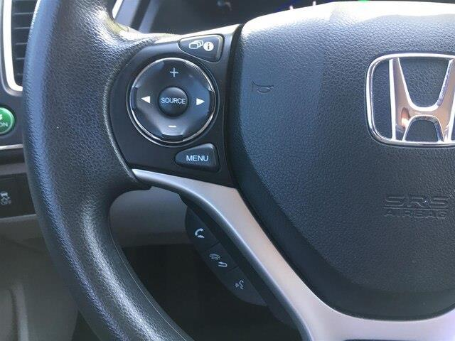 2015 Honda Civic LX (Stk: U15550) in Barrie - Image 10 of 23
