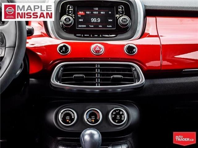 2016 Fiat 500X Alloys,Push Start,Heated Seats, Low Mileage! (Stk: LM388) in Maple - Image 18 of 25