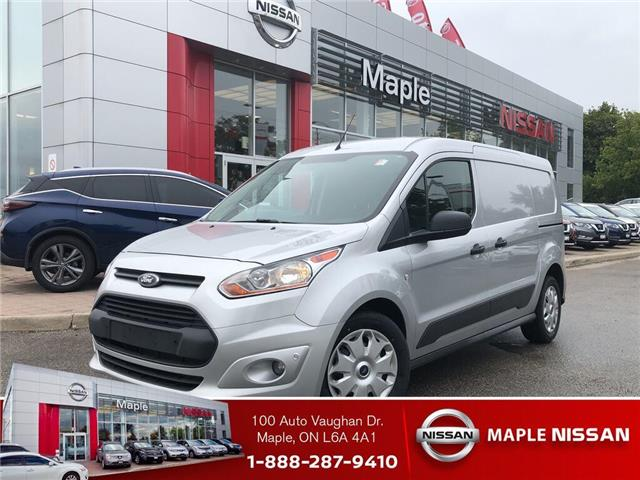 2016 Ford Transit Connect XLT-Bluetooth,A/C,Low Mileage,Work Ready! (Stk: M19NV122A) in Maple - Image 1 of 1