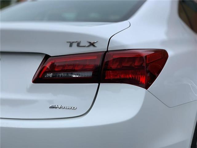 2016 Acura TLX Base (Stk: 4098) in Burlington - Image 11 of 27