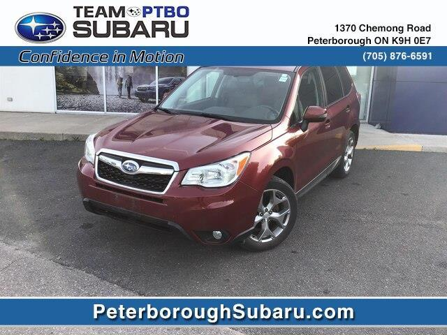 2015 Subaru Forester 2.5i Touring (Stk: S4010A) in Peterborough - Image 1 of 13
