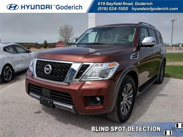 2019 Nissan Armada SL (Stk: 95021) in Goderich - Image 1 of 19