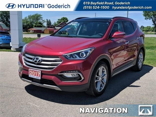 2017 Hyundai Santa Fe Sport 2.0T Ultimate (Stk: 95031A) in Goderich - Image 1 of 16