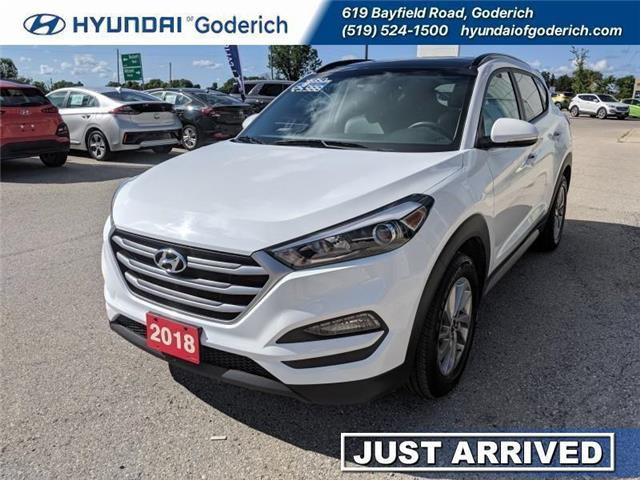 2018 Hyundai Tucson SE (Stk: 95035) in Goderich - Image 1 of 15