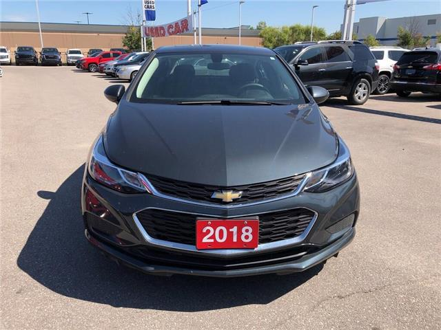 2018 Chevrolet Cruze LT|SUNROOF|BACKUP CAMERA BLUETOOTH| (Stk: PW18607) in BRAMPTON - Image 10 of 20