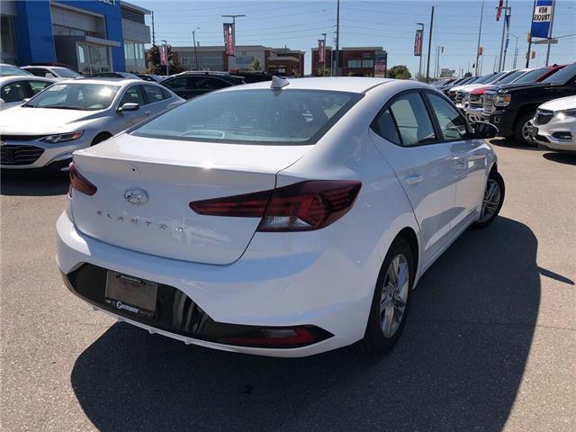 2019 Hyundai Elantra Preferred|Lane Keep|Blindspot Detect|Backup Cam| (Stk: WC187184) in BRAMPTON - Image 7 of 22