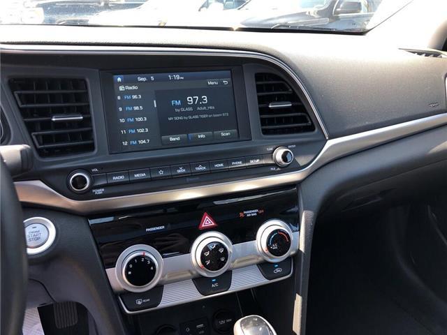 2019 Hyundai Elantra Preferred|Lane Keep|Blindspot Detect|Backup Cam| (Stk: WC187184) in BRAMPTON - Image 19 of 22