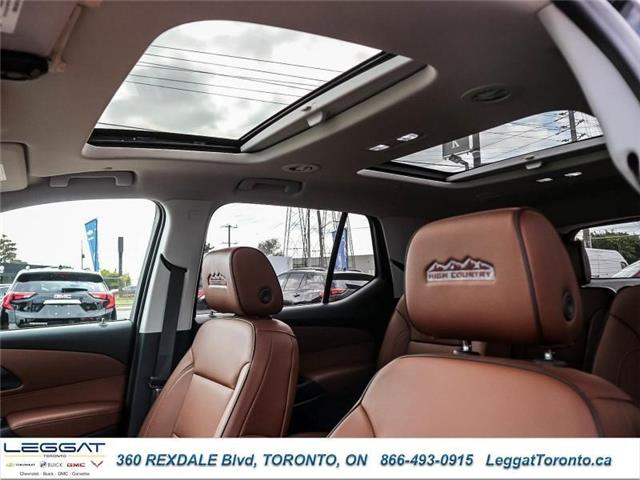 2019 Chevrolet Traverse High Country (Stk: T11637) in Etobicoke - Image 20 of 25
