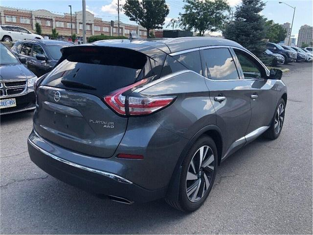 2017 Nissan Murano Platinum AWD-Bose,Leather,Navi,Loaded! (Stk: M19M039A) in Maple - Image 4 of 16