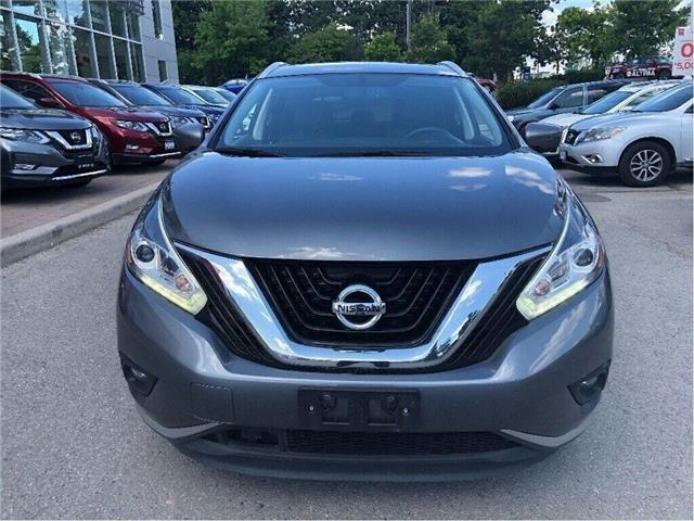 2017 Nissan Murano Platinum AWD-Bose,Leather,Navi,Loaded! (Stk: M19M039A) in Maple - Image 7 of 16