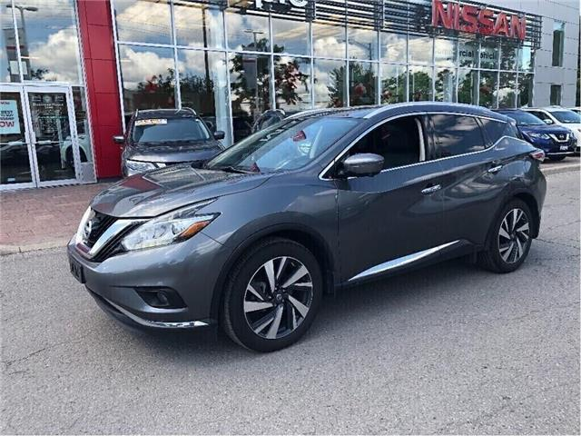 2017 Nissan Murano Platinum AWD-Bose,Leather,Navi,Loaded! (Stk: M19M039A) in Maple - Image 8 of 16