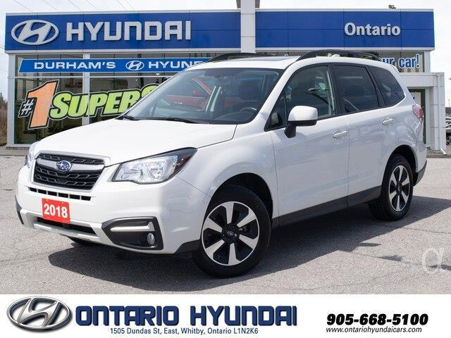 2018 Subaru Forester 2.5i Touring (Stk: 86831K) in Whitby - Image 1 of 20