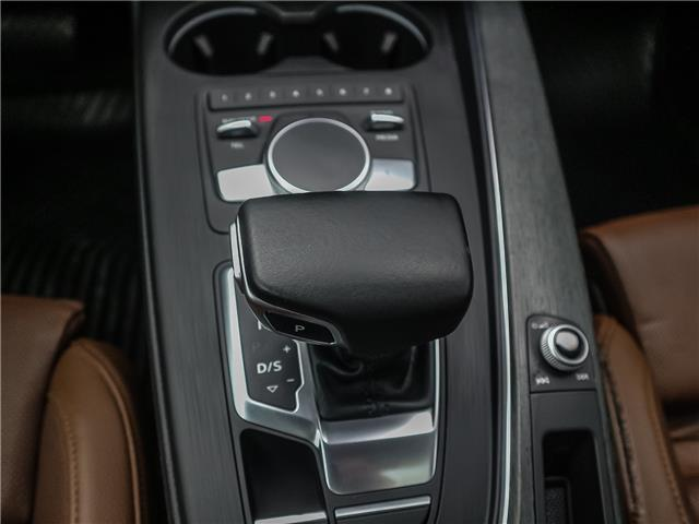 2017 Audi A4 2.0T Technik (Stk: P3357) in Toronto - Image 16 of 29