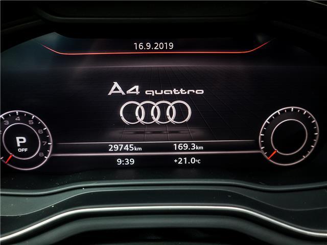 2017 Audi A4 2.0T Technik (Stk: P3357) in Toronto - Image 28 of 29
