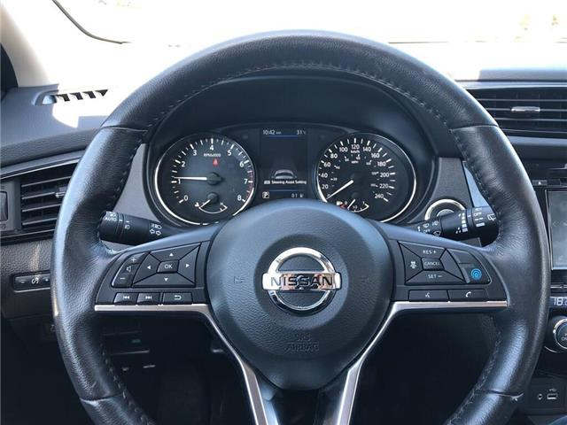 2019 Nissan Qashqai SL - Leather / Sunroof / Bluetooth (Stk: UN996) in Newmarket - Image 11 of 23