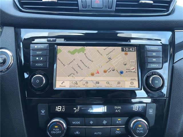 2019 Nissan Qashqai SL - Leather / Sunroof / Bluetooth (Stk: UN996) in Newmarket - Image 17 of 23