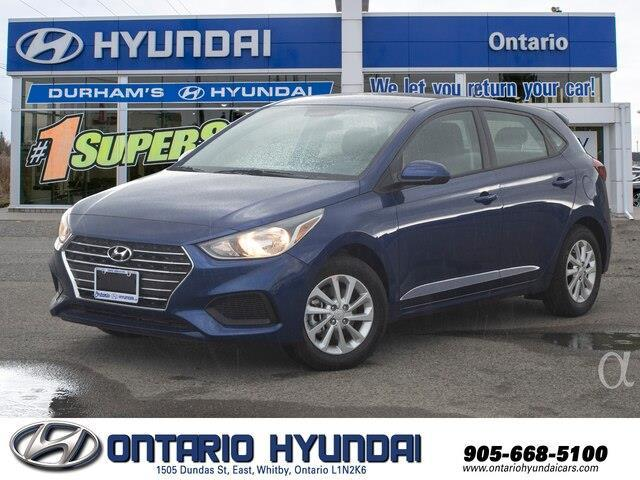 2020 Hyundai Accent Essential w/Comfort Package (Stk: 096410) in Whitby - Image 1 of 18
