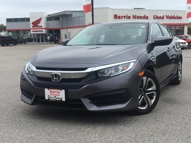 2017 Honda Civic LX (Stk: U17955) in Barrie - Image 1 of 25