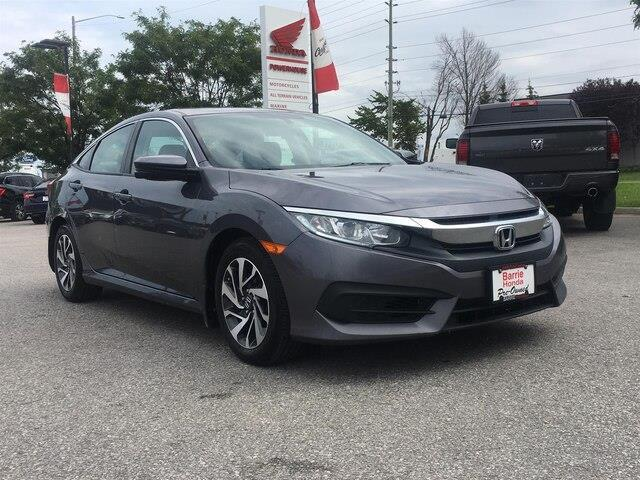 2016 Honda Civic EX (Stk: U16437) in Barrie - Image 8 of 21