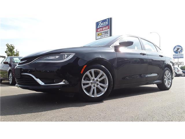 2015 Chrysler 200 Limited (Stk: P574) in Brandon - Image 1 of 11
