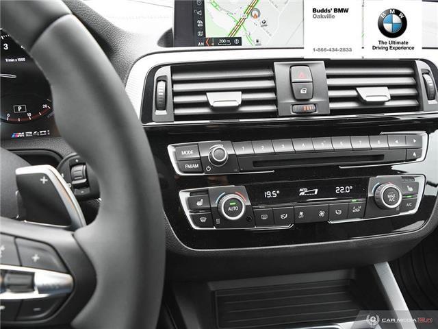 2018 BMW M240i xDrive (Stk: B946191D) in Oakville - Image 21 of 27