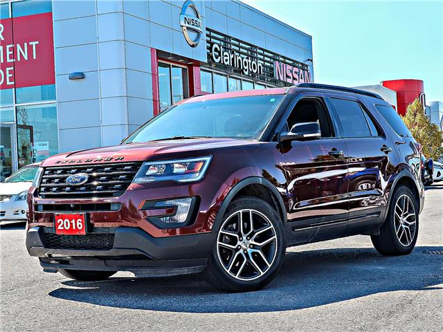 2016 Ford Explorer Sport (Stk: FB506088A) in Bowmanville - Image 1 of 32