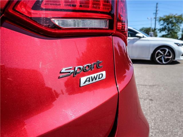 2017 Hyundai Santa Fe Sport 2.4 Premium (Stk: 191146A) in Milton - Image 19 of 28