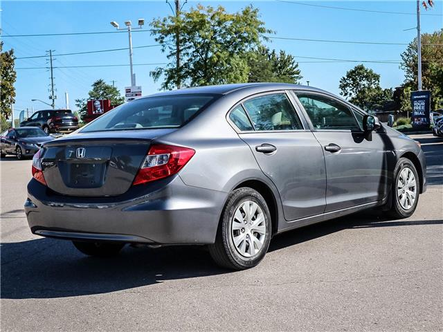 2012 Honda Civic LX (Stk: 19554A) in Milton - Image 5 of 20