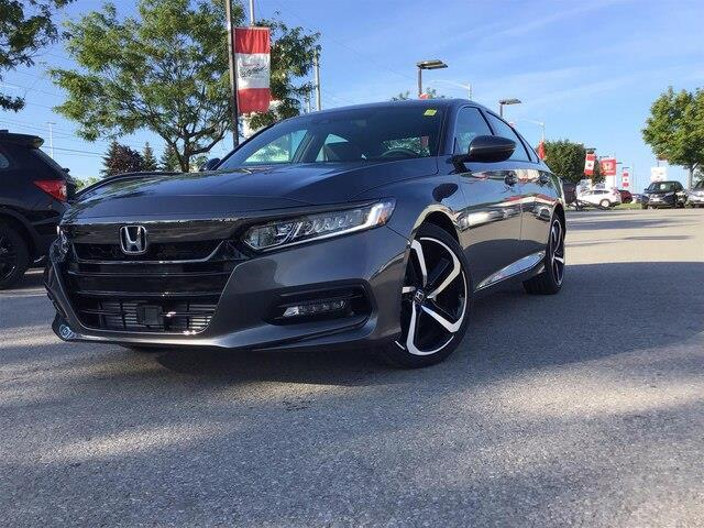 2019 Honda Accord Sport 2.0T (Stk: 191804) in Barrie - Image 1 of 21