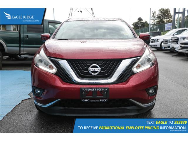 2017 Nissan Murano SV (Stk: 179554) in Coquitlam - Image 2 of 18