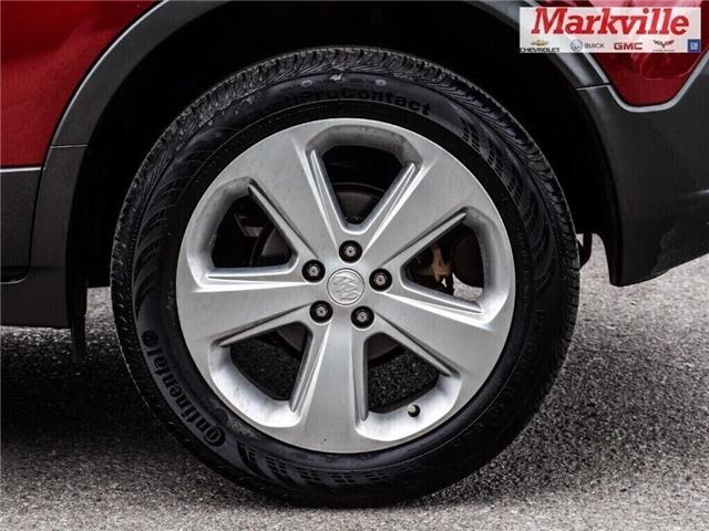 2015 Buick Encore LEATHER-BACK UP CAMERA-SUNROOF-1 OWNER (Stk: 218178A) in Markham - Image 5 of 28