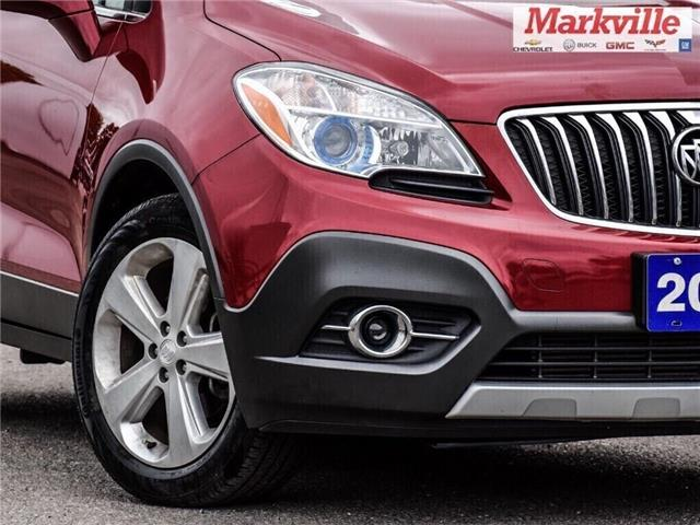2015 Buick Encore LEATHER-BACK UP CAMERA-SUNROOF-1 OWNER (Stk: 218178A) in Markham - Image 9 of 28