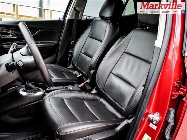 2015 Buick Encore LEATHER-BACK UP CAMERA-SUNROOF-1 OWNER (Stk: 218178A) in Markham - Image 12 of 28