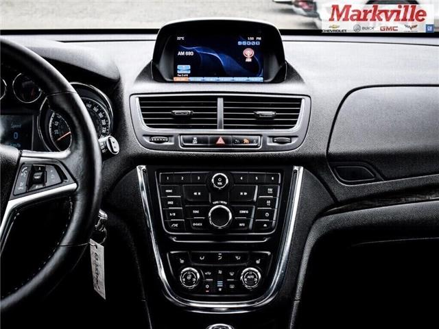 2015 Buick Encore LEATHER-BACK UP CAMERA-SUNROOF-1 OWNER (Stk: 218178A) in Markham - Image 15 of 28