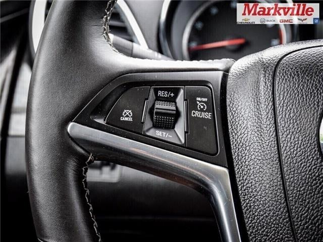 2015 Buick Encore LEATHER-BACK UP CAMERA-SUNROOF-1 OWNER (Stk: 218178A) in Markham - Image 22 of 28