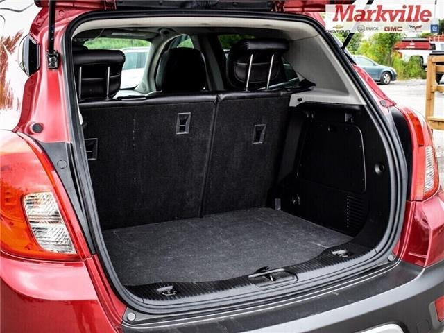 2015 Buick Encore LEATHER-BACK UP CAMERA-SUNROOF-1 OWNER (Stk: 218178A) in Markham - Image 28 of 28