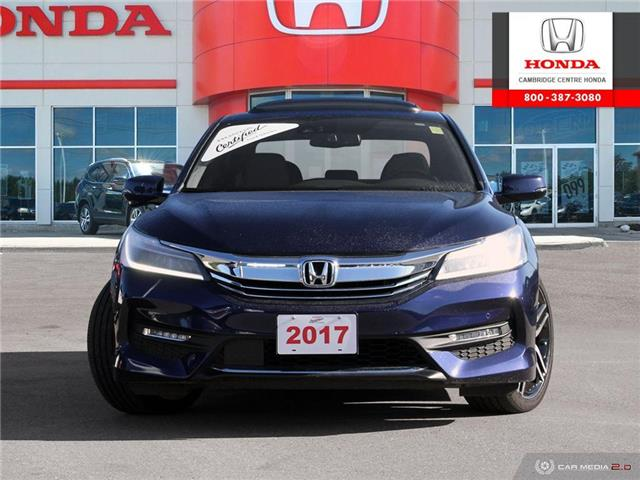 2017 Honda Accord Touring (Stk: 19773A) in Cambridge - Image 2 of 27