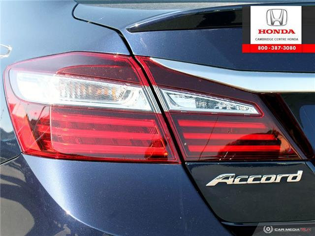 2017 Honda Accord Touring (Stk: 19773A) in Cambridge - Image 12 of 27