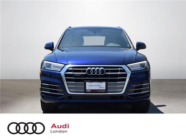 2018 Audi Q5 2.0T Progressiv (Stk: Q37624) in London - Image 1 of 24