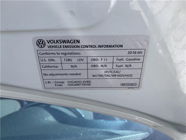 2016 Volkswagen Beetle 1.8 TSI Comfortline (Stk: GM607249) in Sarnia - Image 28 of 28