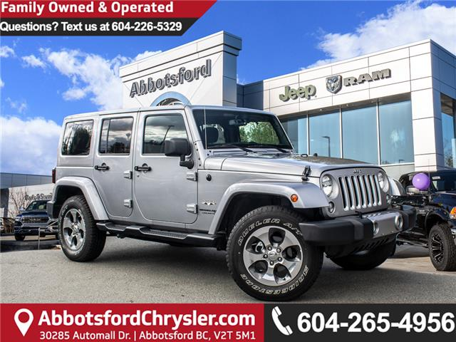2018 Jeep Wrangler JK Unlimited Sahara (Stk: AB0910) in Abbotsford - Image 1 of 25