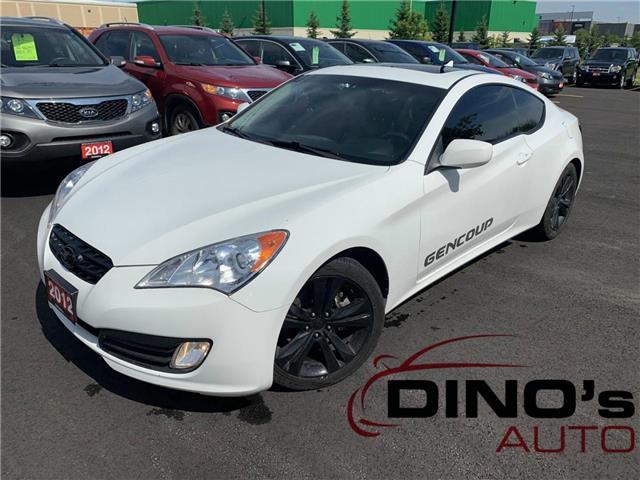 2012 Hyundai Genesis Coupe  (Stk: 066550) in Orleans - Image 1 of 27