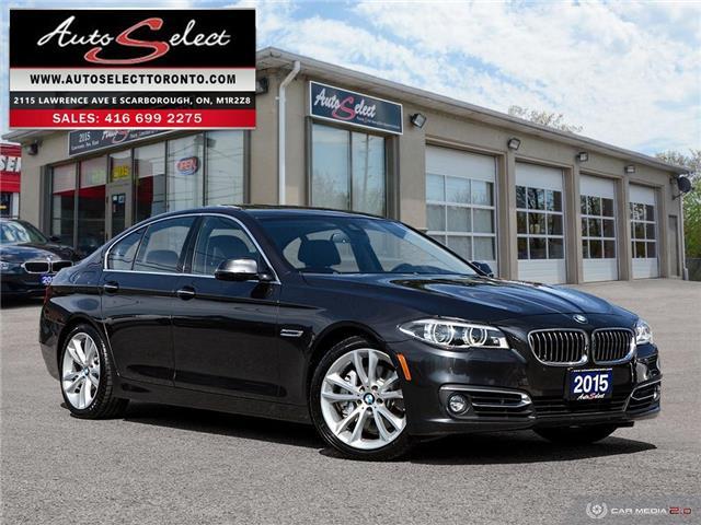 2015 BMW 535i xDrive WBA5B3C58FD547590 X1CG261 in Scarborough
